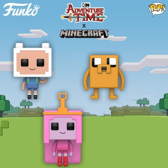 Adventure Time / Minecraft POP! Television Vinyl Figure  9 cm
