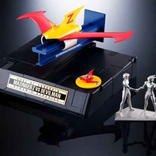 Tamashii Web Exclusive Gx-70vs Mazinger Z Vs Dc Devilman Extra Set