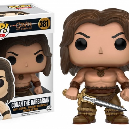 Conan the Barbarian POP! Movies Vinyl Figure Conan 9 cm