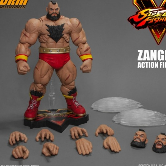 Street Fighter V Action Figure 1/12 Zangief 21 cm