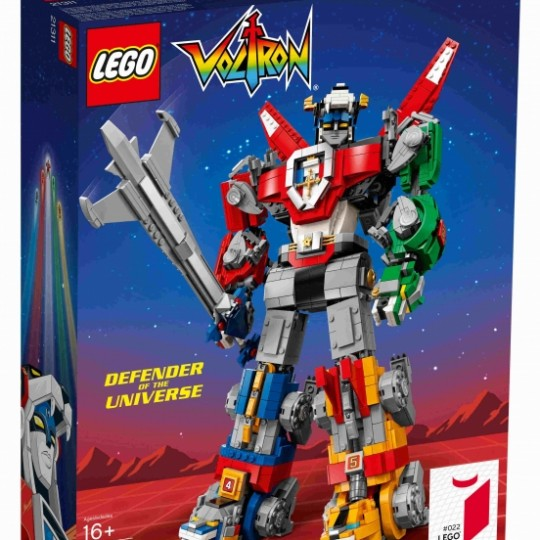 LEGO IDEAS VOLTRON Defenders of the Universe 40 cm Exclusive