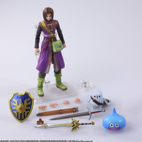 Dragon Quest XI Echoes of an Elusive Age Bring Arts Action Figure The Luminary 14 cm