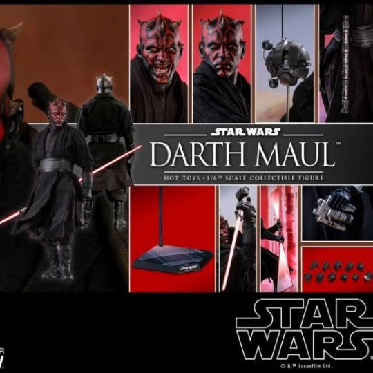 Hot Toys Star Wars Episode I DX Series Action Figure 1/6 Darth Maul 29 cm