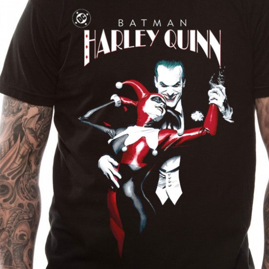 Batman T-Shirt Joker & Harley Quinn