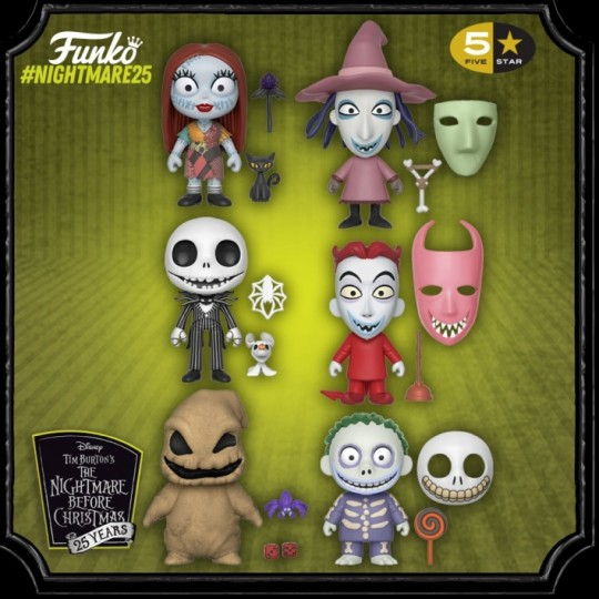 Nightmare Before Christmas 5-Star Vinyl Figure 9 cm