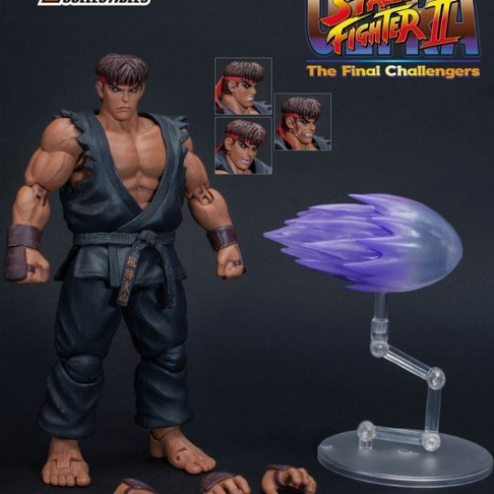Ultra Street Fighter II: The Final Challengers Action Figure 1/12 Evil Ryu 15 cm