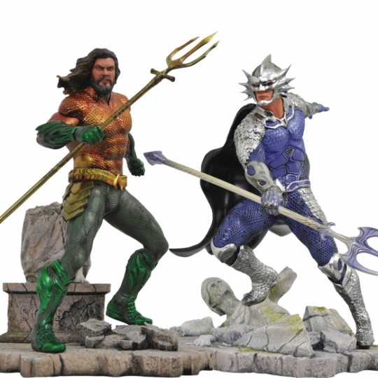 Aquaman DC Movie Gallery PVC Statue Aquaman / Ocean Master 23 cm
