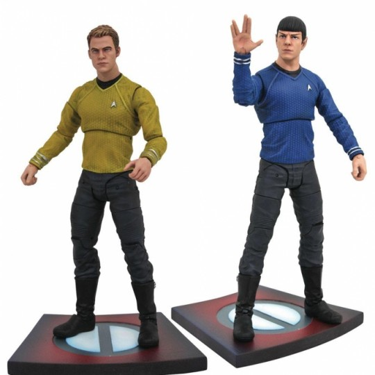 Star Trek Into Darkness Select Action Figures 18 cm Series 1