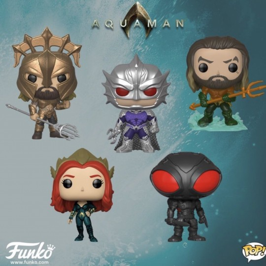 Aquaman Movie POP! Movies Vinyl Figure 9 cm