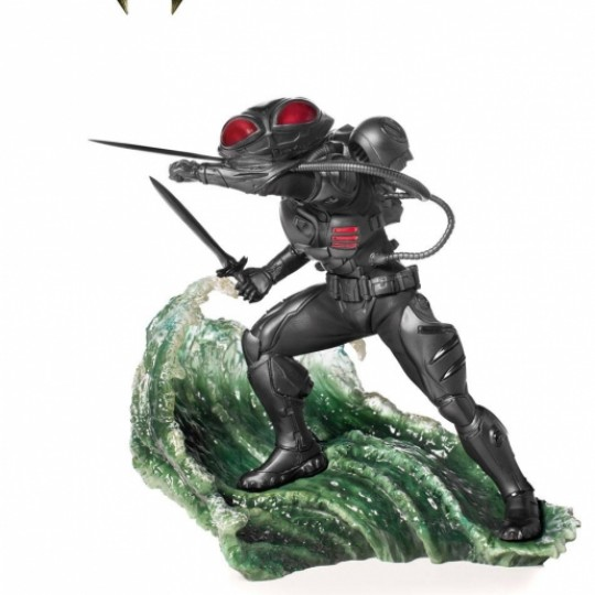 Aquaman Battle Diorama Series Art Scale Statue 1/10 Black Manta 20 cm