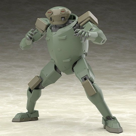 Full Metal Panic! Invisible Victory Moderoid Plastic Model Kit Rk-91/92 Savage (Olive) 13 cm