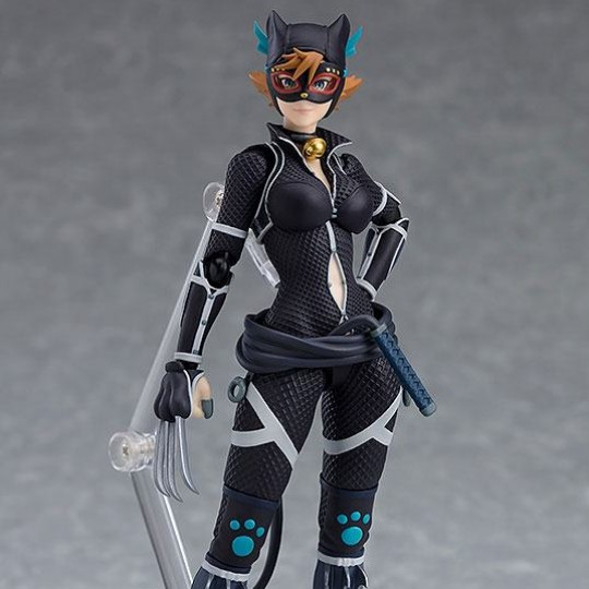 Batman Ninja Figma Action Figure Catwoman Ninja Version 14 cm