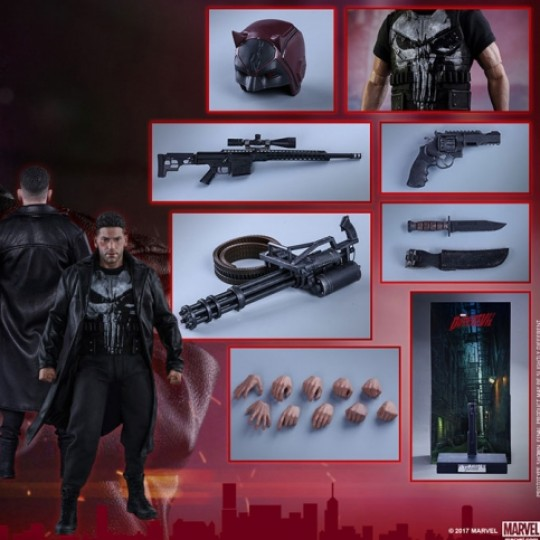 Hot Toys Daredevil Action Figure 1/6 The Punisher 30 cm