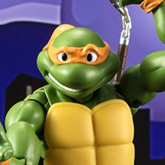 Teenage Mutant Ninja Turtles S.H. Figuarts Michelangelo Tamashii Web Exclusive 15 cm