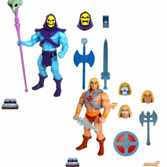 Masters of the Universe Classics Action Figure Club Grayskull Ultimates He-Man / Skeletor 18 cm