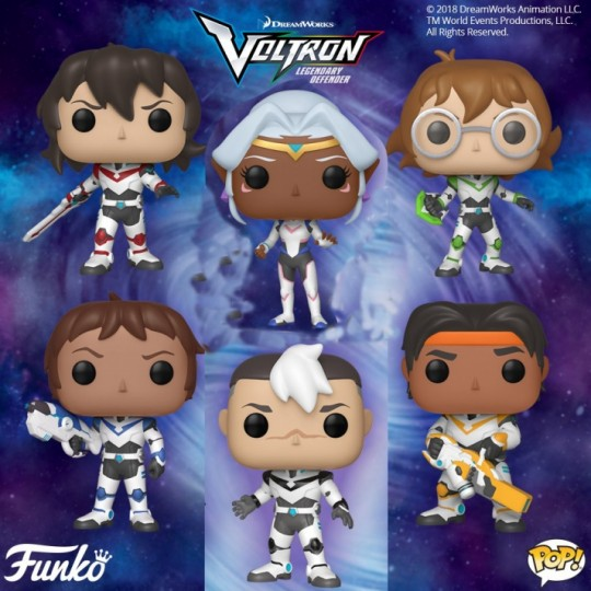 Voltron POP! Animation Vinyl Figure 9 cm