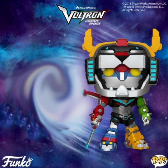 Voltron Super Sized POP! Animation Vinyl Figure Voltron 15 cm