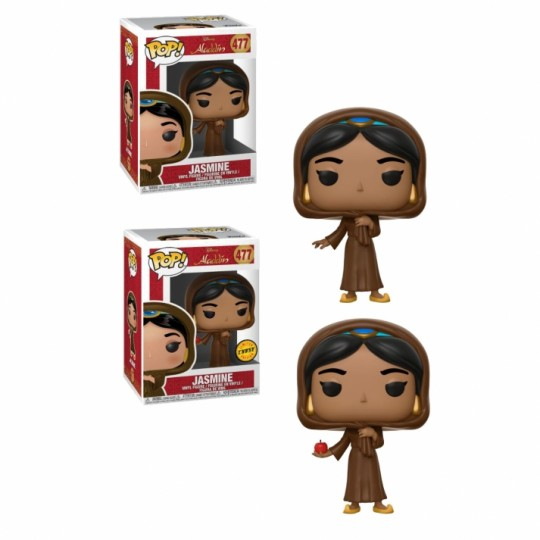 Aladdin POP! Vinyl Figures Jasmine in Disguise Regular + Chase 9 cm