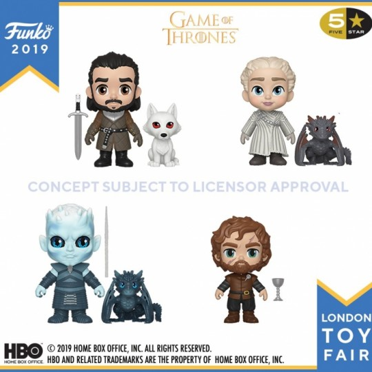 Game of Thrones 5-Star Action Figure 8 cm