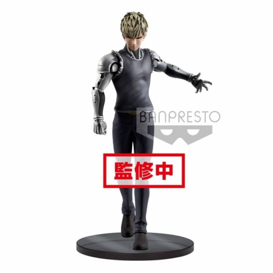 One Punch Man DXF PVC Statue Genos 20 cm