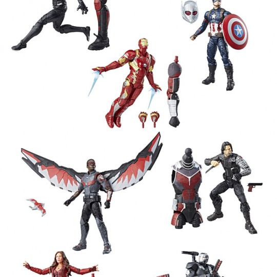 Marvel Legends Series Action Figures Best of Avengers 2017 15 cm