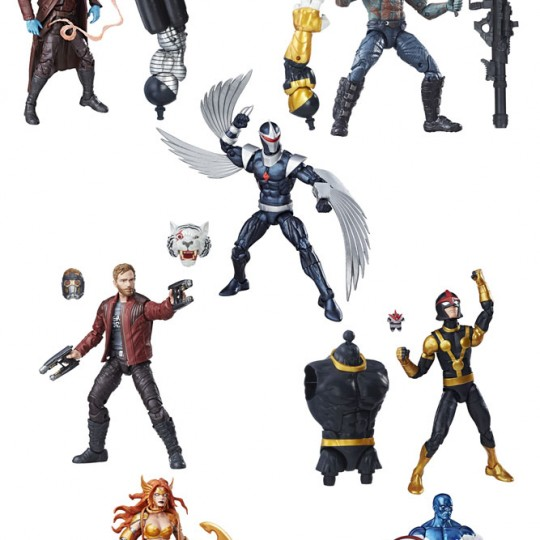 Marvel Legends Series Action Figures Guardians of the Galaxy 2017 Wave 1 15 cm