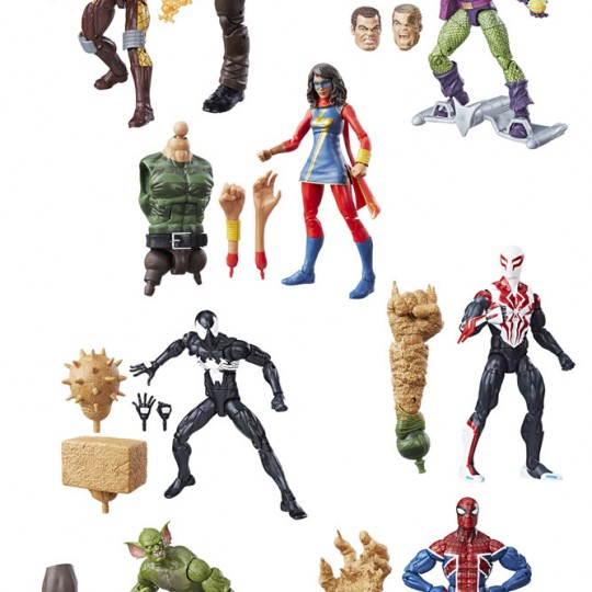 Marvel Legends Series Action Figures Spider-Man 2017 Wave 1 15 cm