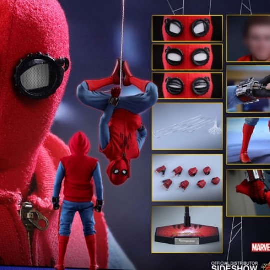 Hot Toys Spider-Man Homecoming  Action Figure 1/6 Spider-Man Homemade Suit Ver. 28 cm