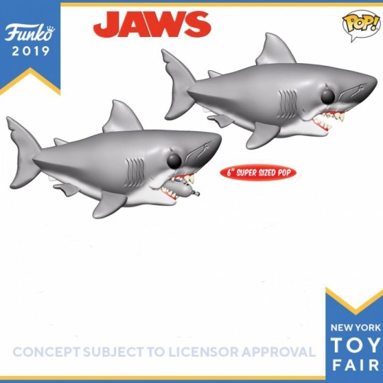 Jaws Oversized POP! Movies Vinyl Figure Jaws 15 cm