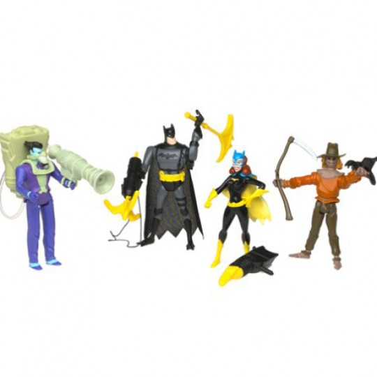Batman Alliance of Fear Action Figure Gift Set of 4 13 cm