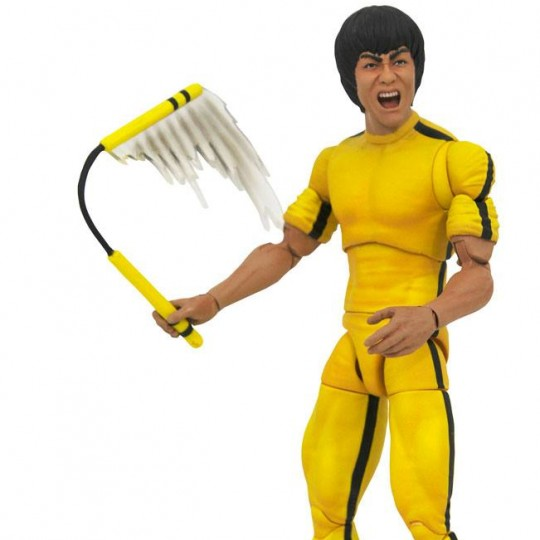 Bruce Lee Select Action Figure Yellow Jumpsuit 18 cm