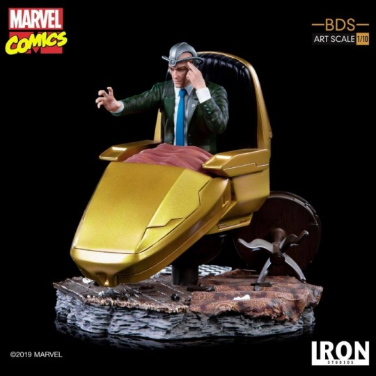Marvel Comics Battle Diorama Series Art Scale Statue 1/10 Professor X 18 cm