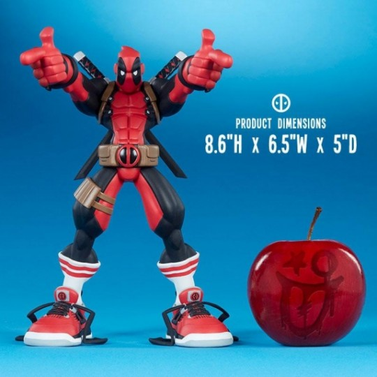Marvel Super Heroes in Sneakers PVC Statue Wade by Tracy Tubera 22 cm