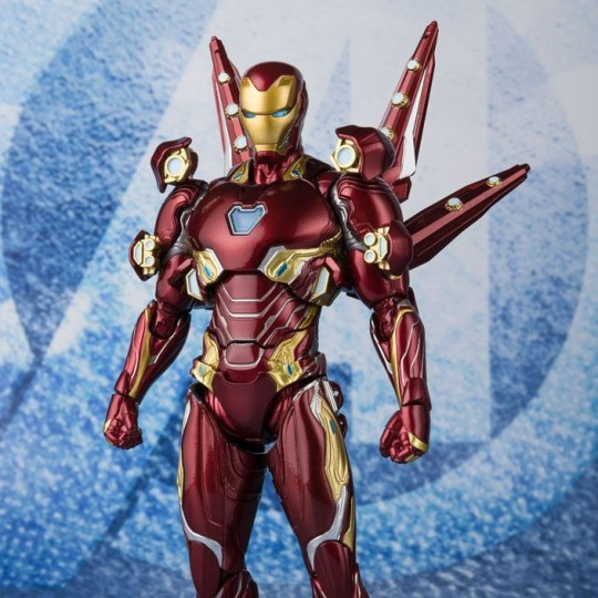 Avengers Endgame S.H. Figuarts Accessories for Action Figure Iron Man MK50