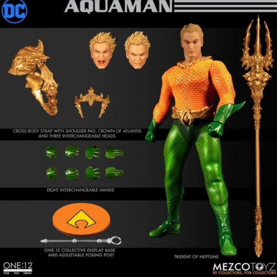 DC Comics Action Figure 1/12 Aquaman 17 cm