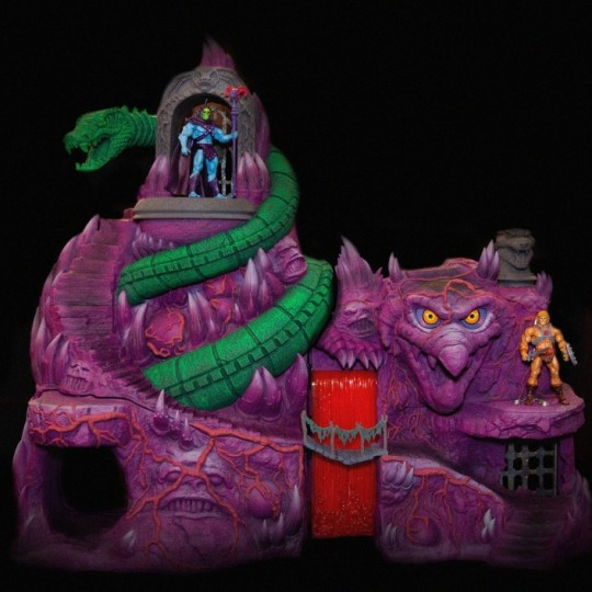 Masters of the Universe Collectors Choice Playset Snake Mountain 92 cm x 122 cm