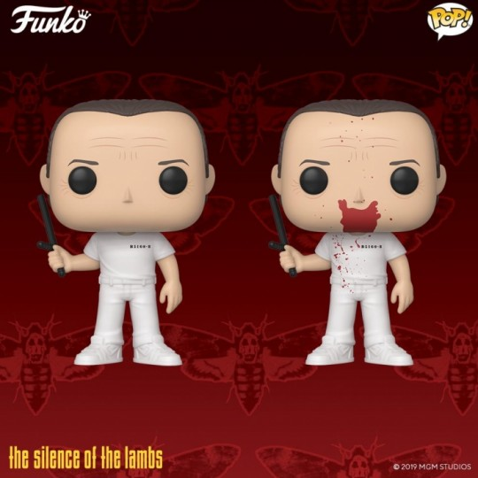 The Silence of the Lambs POP! Movies Vinyl Figure Hannibal / Hannibal BD 9 cm
