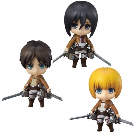 Attack on Titan Nendoroid Action Figure 10 cm