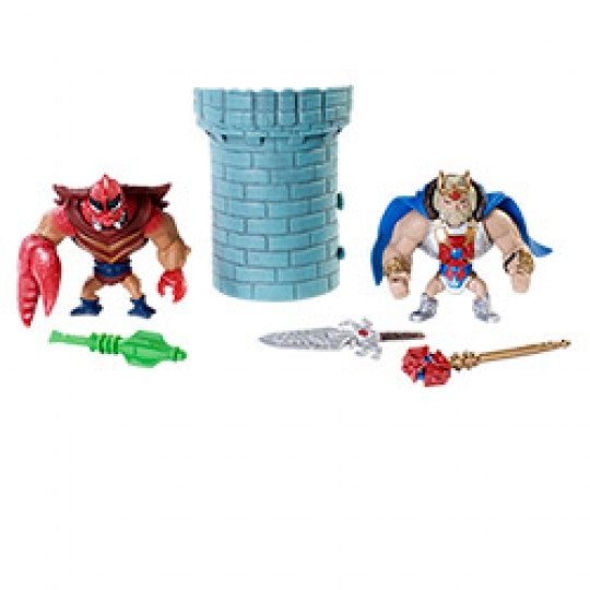 Masters of the Universe Classic Mini King He-Man & Clawful