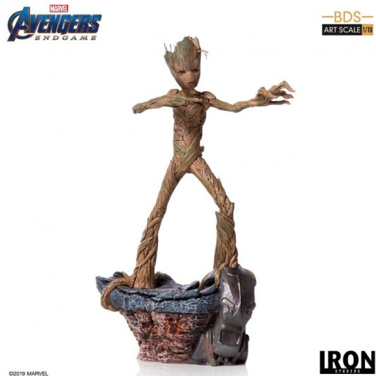 Avengers: Endgame Battle Diorama Series Art Scale Statue 1/10 Groot 24 cm