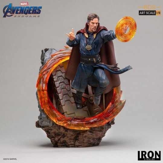 Avengers: Endgame Battle Diorama Series Art Scale Statue 1/10 Doctor Strange 22 cm