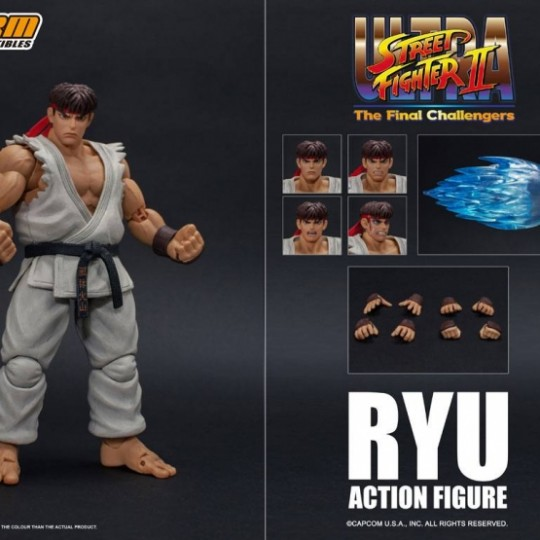 Ultra Street Fighter II: The Final Challengers Action Figure 1/12 Ryu 16 cm