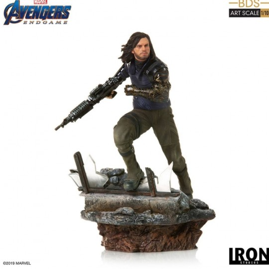 Avengers: Endgame Deluxe Battle Diorama Series Art Scale Statue 1/10 Winter Soldier  21 cm