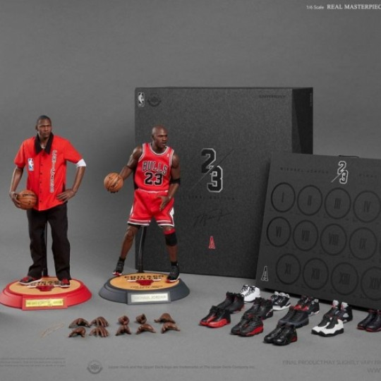 NBA Collection Real Masterpiece Action Figure 1/6 Michael Jordan (Away) Final Limited Edition 30 cm
