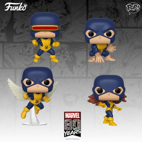 Marvel 80th POP! Heroes Vinyl Figure First Appearence 9 cm