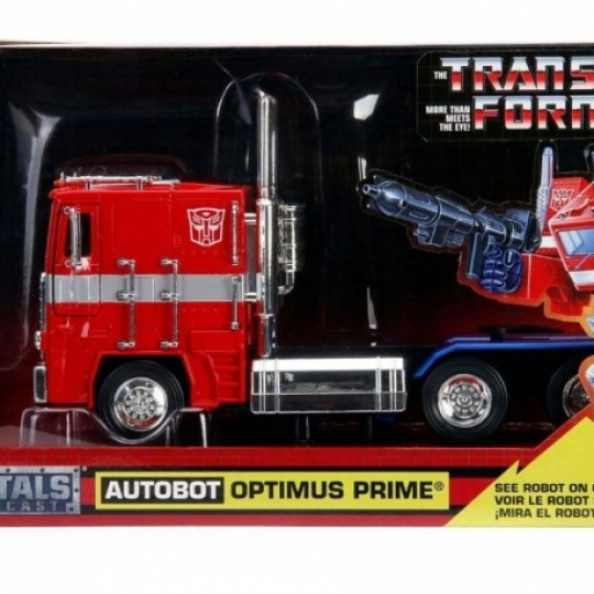 Transformers Diecast Model 1/24 25 cm G1 Optimus Prime