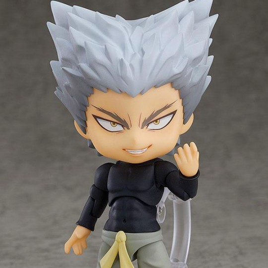One Punch Man Nendoroid PVC Action Figure Garo Super Movable Edition 10 cm