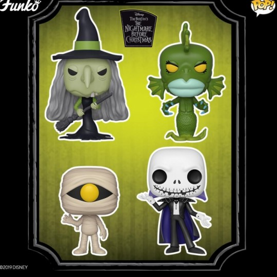Nightmare before Christmas POP! Movies Vinyl Figure  9 cm