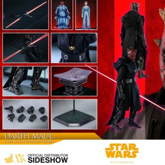 Hot Toys Solo A Star Wars Story Movie Masterpiece Action Figure 1/6 Darth Maul 29 cm