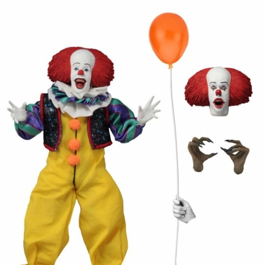 Stephen King's It 1990 Retro Action Figure Pennywise 20 cm